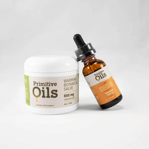 Primitive Oils™ | Broad Spectrum Tincture and Salve Bundle