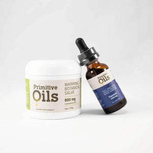 Primitive Oils™ | Full Spectrum Tincture and Salve Bundle
