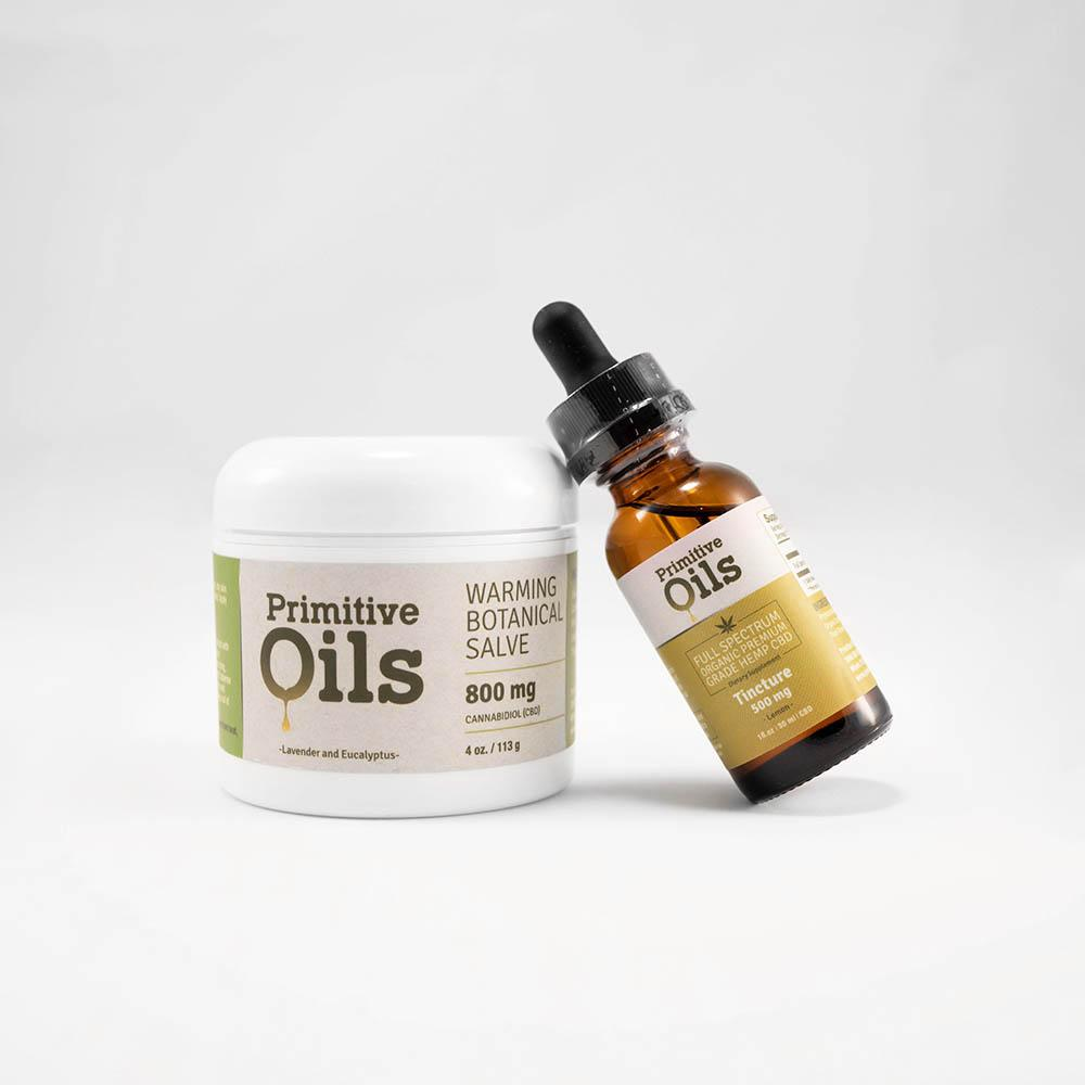 Primitive Oils™ | Full Spectrum Lemon 500mg and Salve Bundle