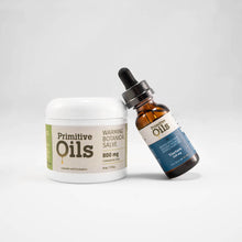 Load image into Gallery viewer, Primitive Oils™ | Broad Spectrum Peppermint Tincture and Salve Bundle