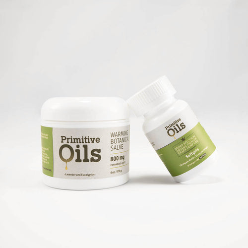 Primitive Oils™ | 25mg Sofgels with 800mg Salve Bundle