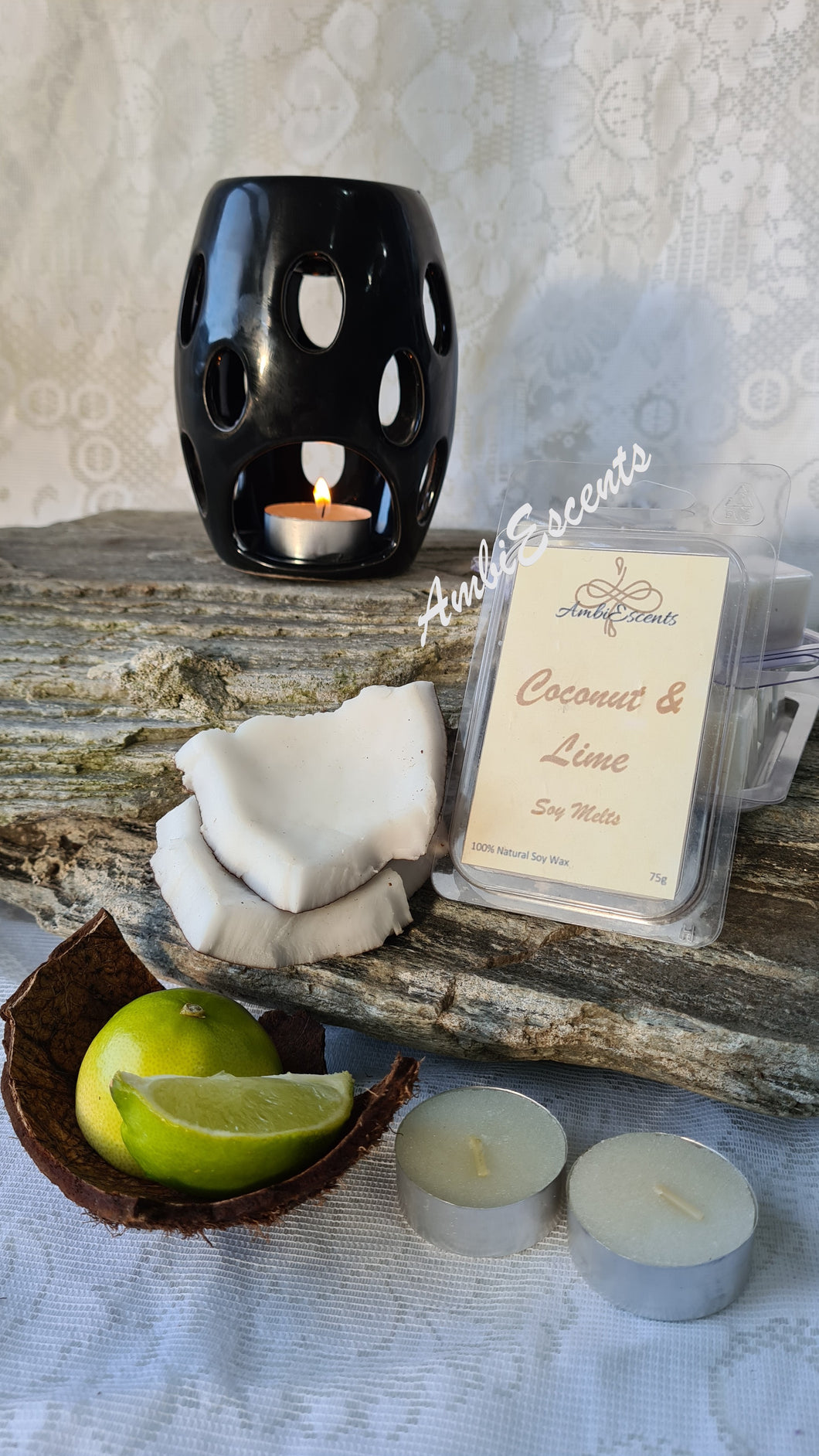 Coconut & Lime Soy Wax Melt