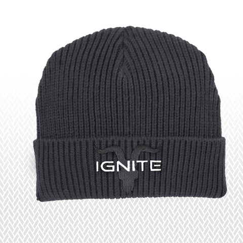 Ignite Premium Collection Charcoal Beanie