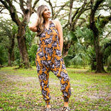 Flower Harem Jumpsuit By Buddha Pants®