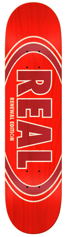 Deck Real Team PP Ovalduo Fade Red 8,06