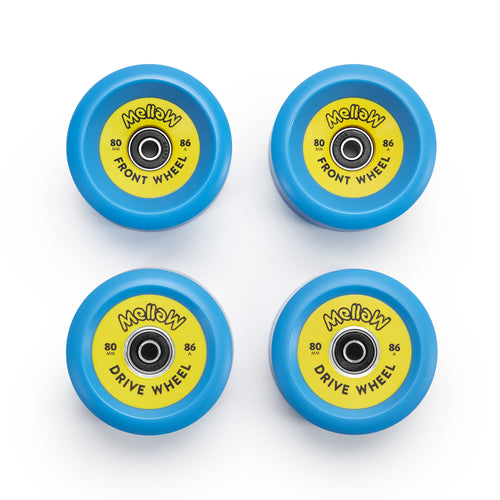 Mellow 80mm Rollen Set
