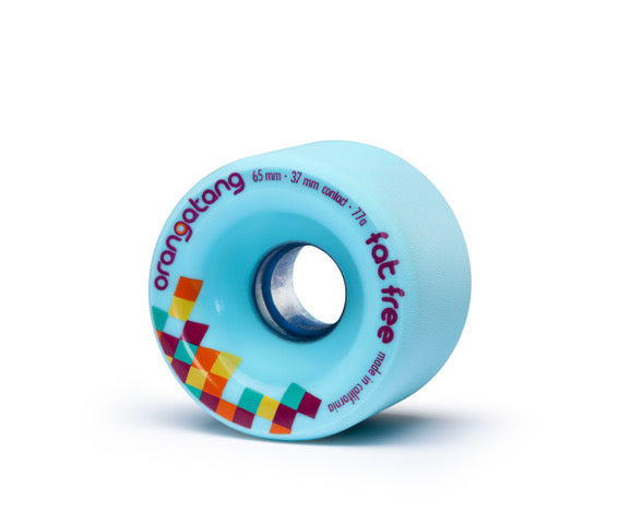 Orangatang Fat Free 65mm 77a blue