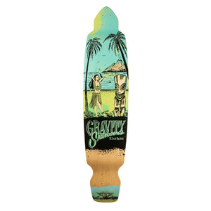 "Gravity Big Kick 45"" Deck - blue"