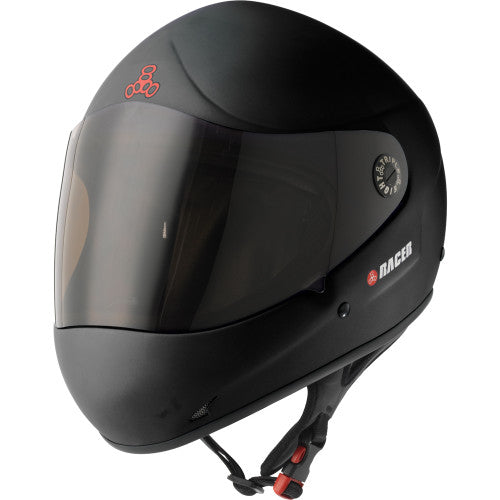 Triple Eight Racer 2.0 Helmet Black rubber