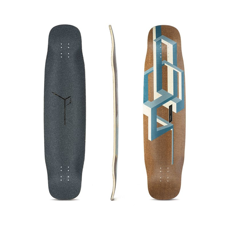 Loaded Basalt Tesseract Komplett Longboard