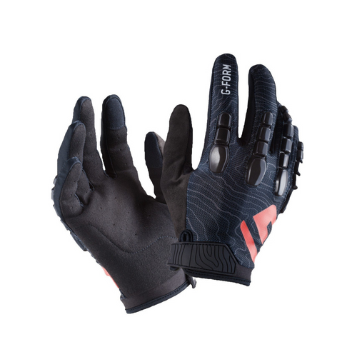 G-Form Pro Trail Gloves - black/black Topo