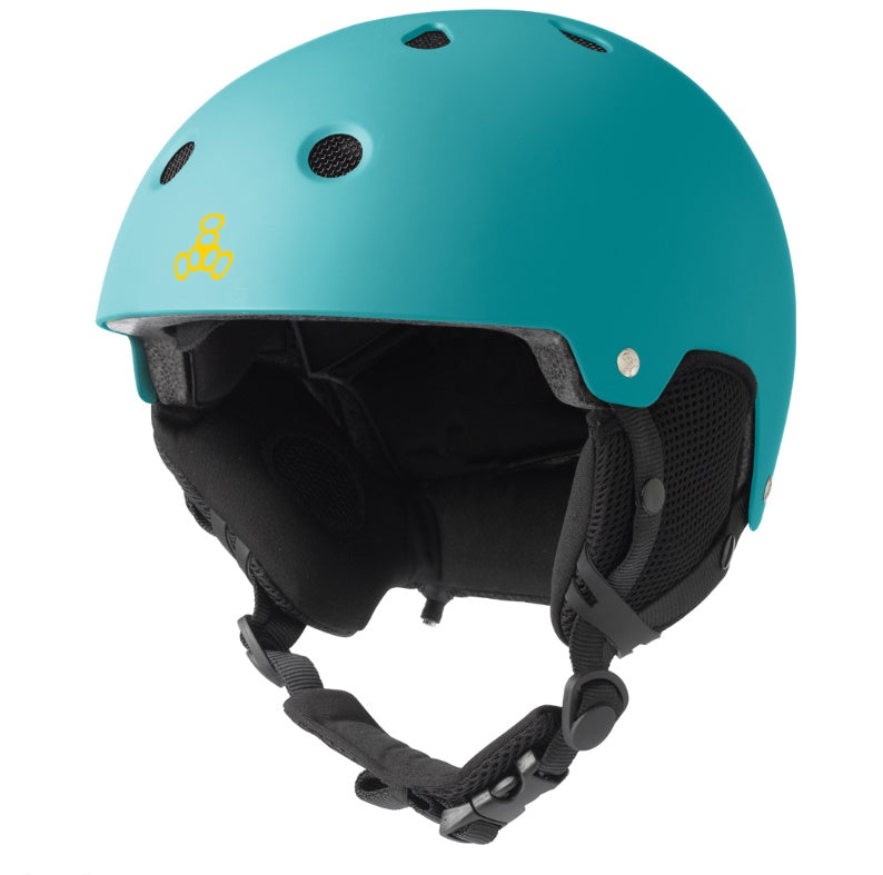 Triple Eight - Brainsaver Snow Helmet W/ Audio Teal Rubber