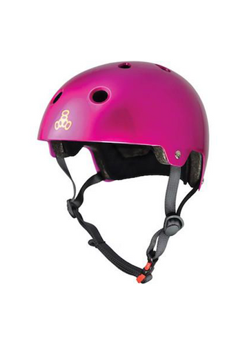 Triple Eight - Dual Certified Helmet Metal Pink