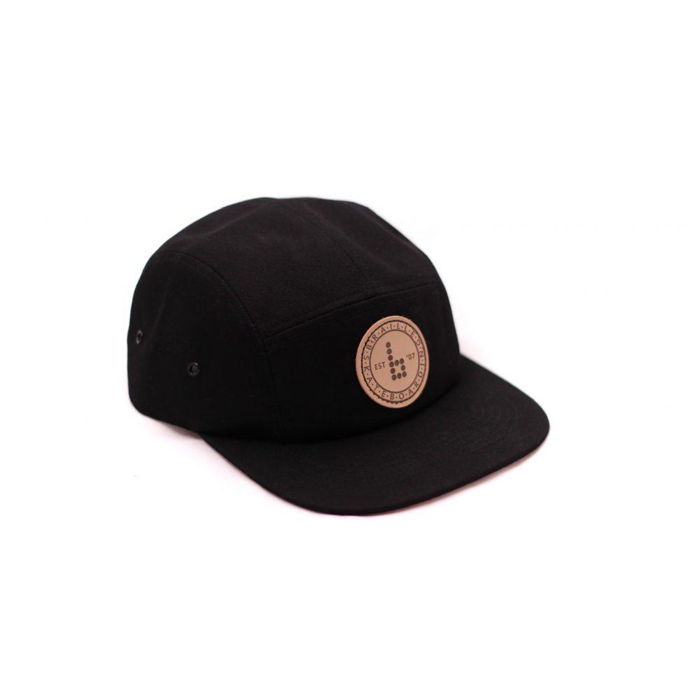 Braille 5 Panel - Black