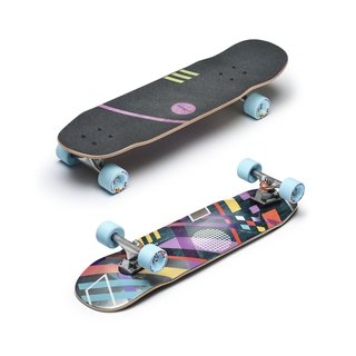Loaded Coyote Komplett Board Fat Free Paris Street 129mm