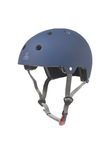 Triple Eight - Dual Certified Helmet Navy Matte