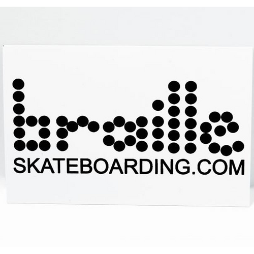 Braille Classic Sticker Set - 5 Stk.