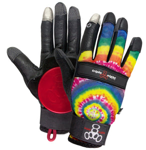 Triple Eight Gloves Downhill Tie Dye