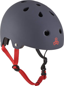 Triple Eight Brainsaver Skate Helm - Grau