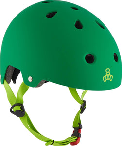 Triple Eight Brainsaver Skate Helm - Grün