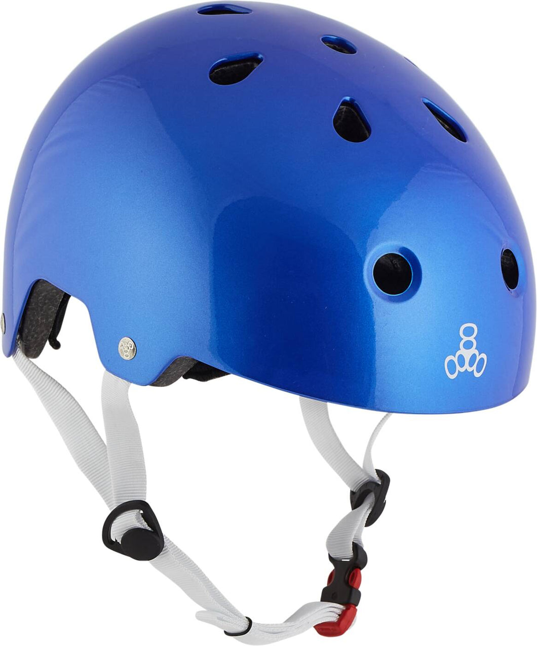 Triple Eight Brainsaver Skate Helm - Metallic Blue