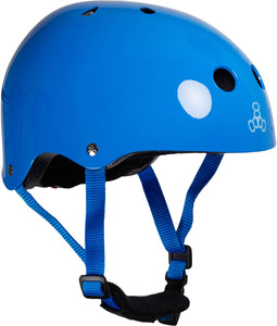 Triple Eight Lil 8 Skaterhelm Kinder - Blau