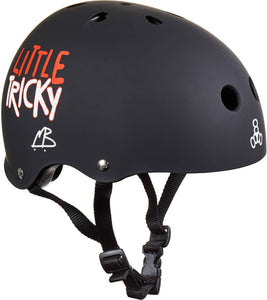Triple Eight Little Tricky Skaterhelm Kinder - Schwarz