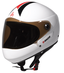 Triple Eight - T8 Racer White Glossy
