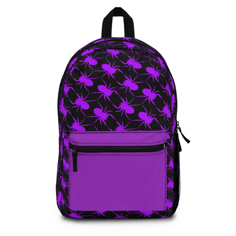 Jumping Spider Print Backpack Made in USA