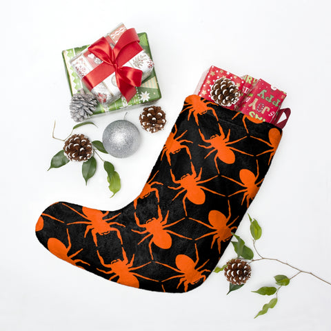 Christmas Stockings with Spider Print from BFP