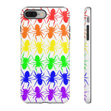 Tough Cases with BIgFATphids Rainbow Spider Art