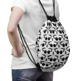 Drawstring Bag Featuring Jumping Spider Print