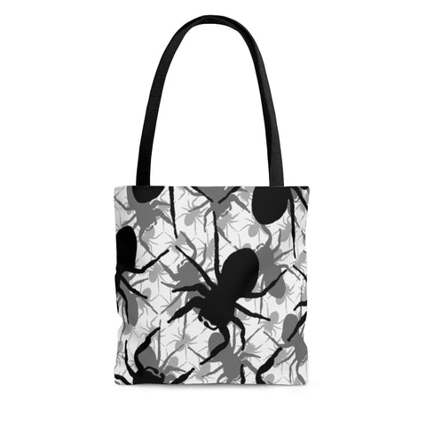 Jumping Spider Tote Bag Featuring Jumping Spider Print