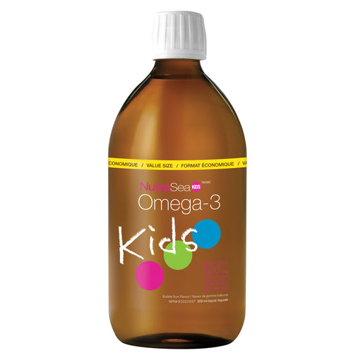 NutraSea® Kids™ Omega-3, Bubblegum / 16.9 fl oz (500 ml)