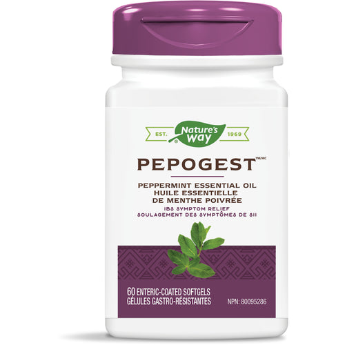 Pepogest™, Peppermint Essential Oil / 60 softgels