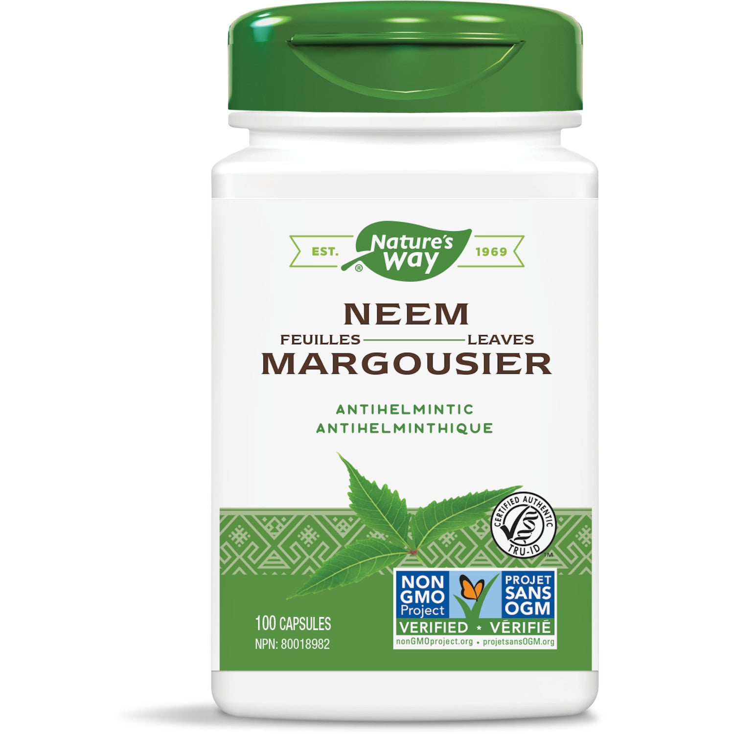 Neem Leaves / 100 capsules