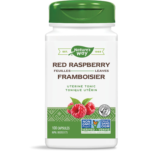 Red Raspberry Leaves / 100 capsules