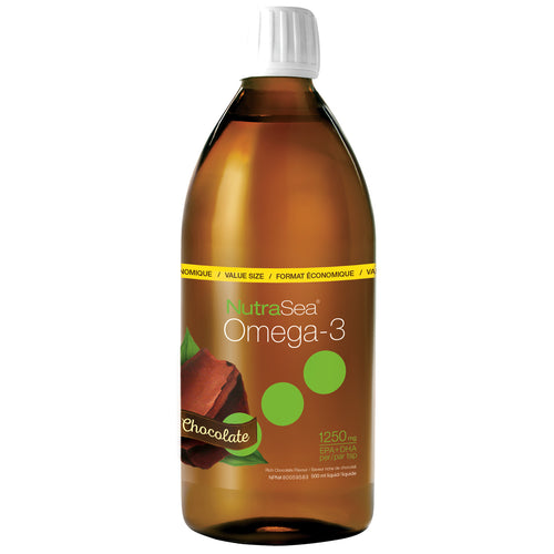 NutraSea® Omega-3, Chocolate / 16.9 fl oz (500 ml)