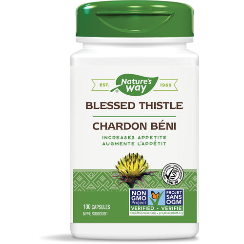 Blessed Thistle / 100 capsules
