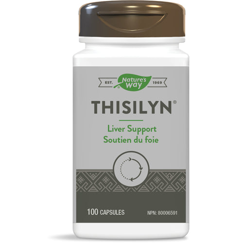 Thisilyn® Standardized Milk Thistle Extract / 100 capsules