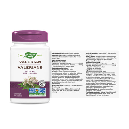Valerian, Standardized Extract / 90 capsules