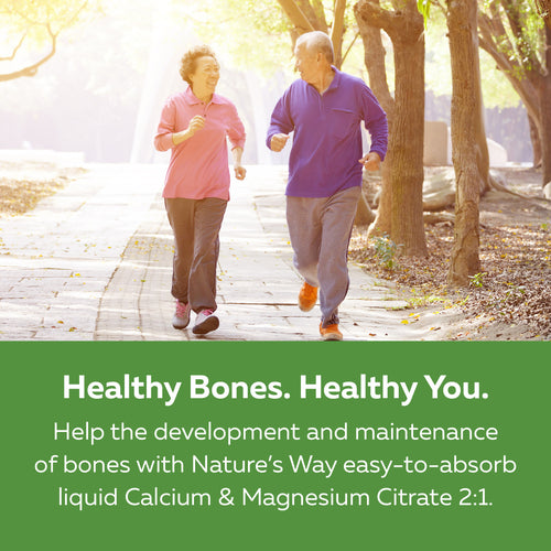 Calcium & Magnesium Citrate 2:1 with Collagen, Blueberry / 16.9 fl oz (500 ml)