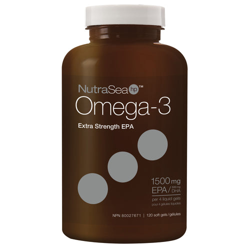 NutraSea® HP Omega-3 Liquid Gels, Lemon / 120 softgels
