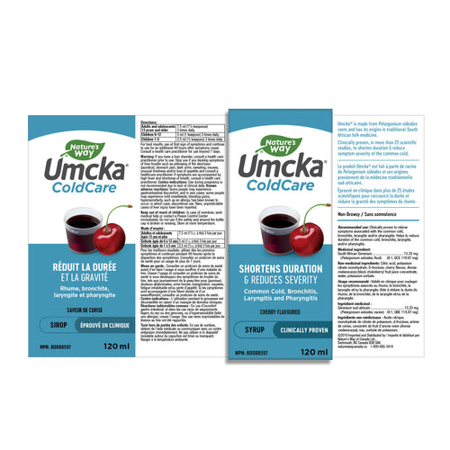 Umcka® ColdCare, Syrup, Cherry / 4 fl oz (120 ml)