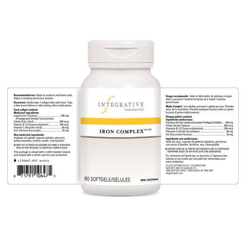 Iron Complex™ / 90 softgels