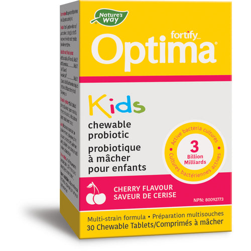 Fortify™ Optima™ Kids Probiotic, Cherry / 30 tablets