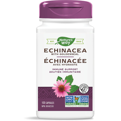 Echinacea with Goldenseal / 100 capsules