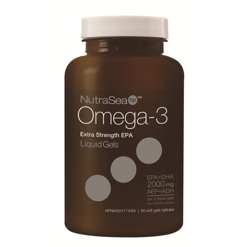 NutraSea® HP™ Omega-3 Liquid Gels, Fresh Mint / 60 softgels