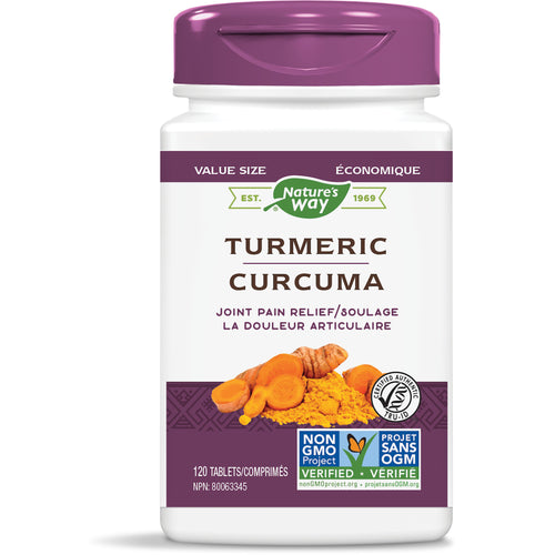 Turmeric, Standardized Extract / 120 tablets