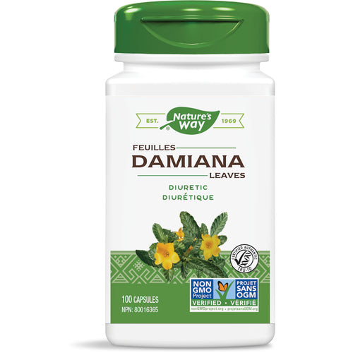 Damiana Leaves / 100 capsules